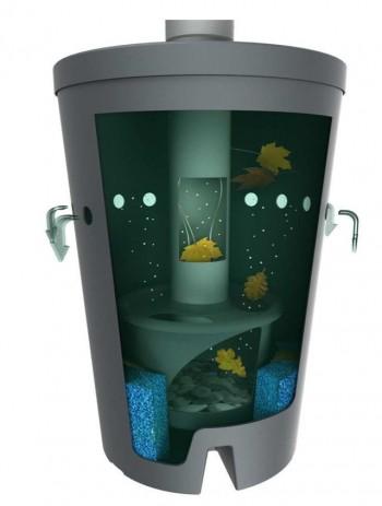 Biovitor DN100 Regenwasserfilter für Dachflächen bis 250m2