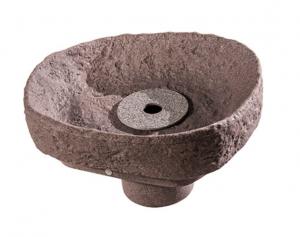 Evo Bruns Springbrunnenset granitrot