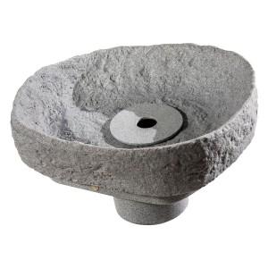 Evo Bruns Springbrunnenset granitgrau